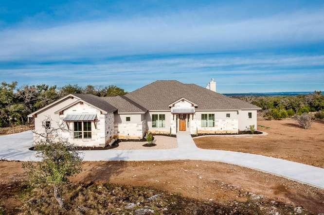 310 Vista View Trail  custom home Marble Falls Texas