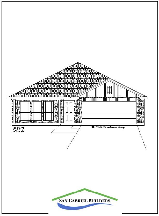 Home for Sale 302 Bluebonnet Granite Shoals elevation
