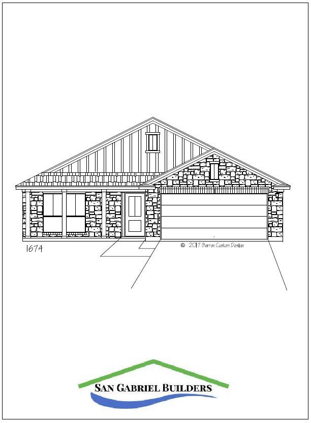 1202 Cedar Marble Falls Texas - elevation