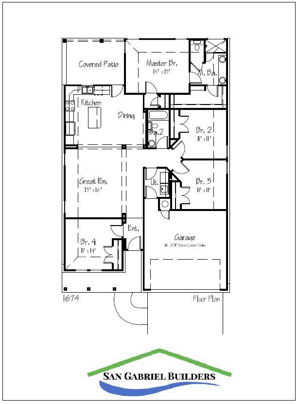 1202 Cedar Marble Falls Texas - floorplan