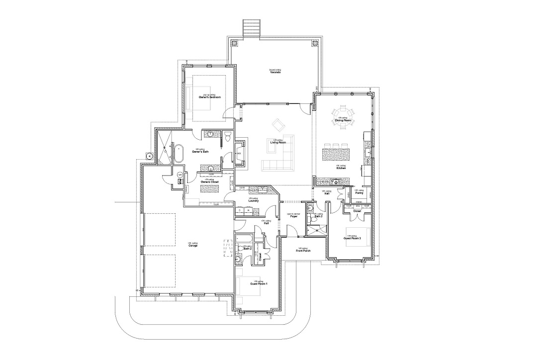 124 Floyds Run, Bertram TX - floorplan