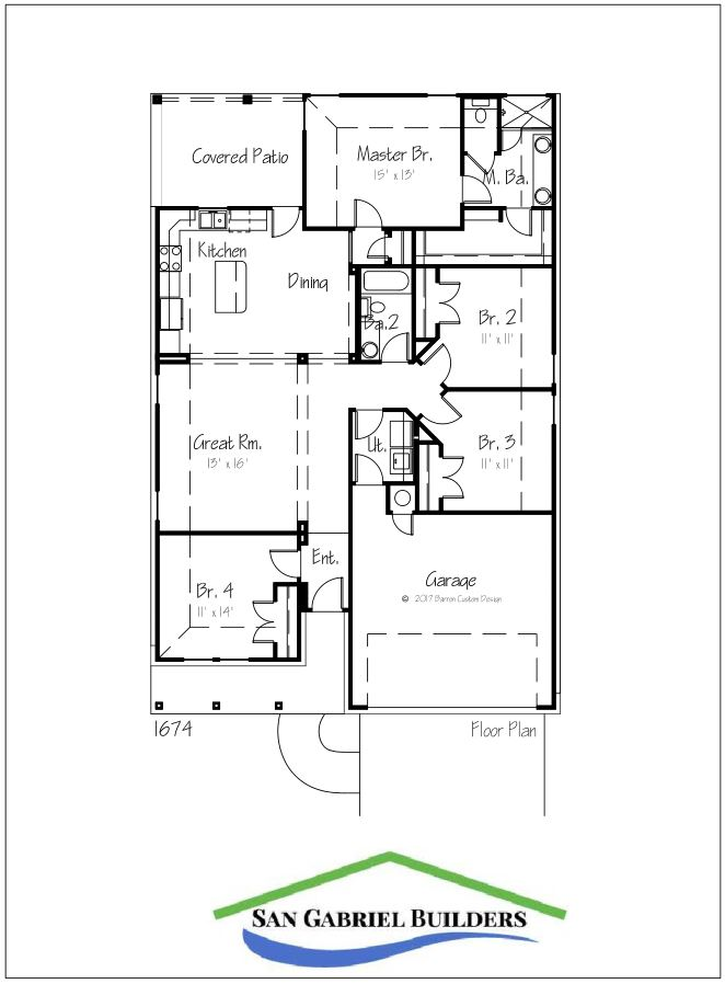 Home for Sale 1302 Primrose Marble Falls Texas - floorplan