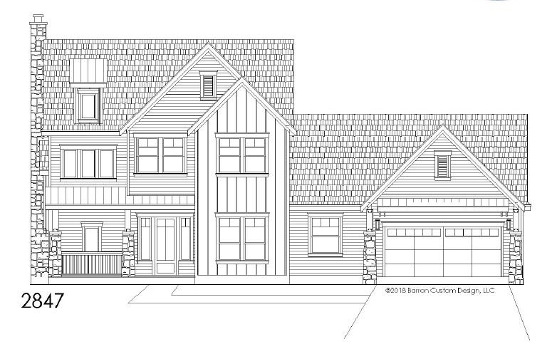 Lot 3 - The Retreat - Georgetown - elevation
