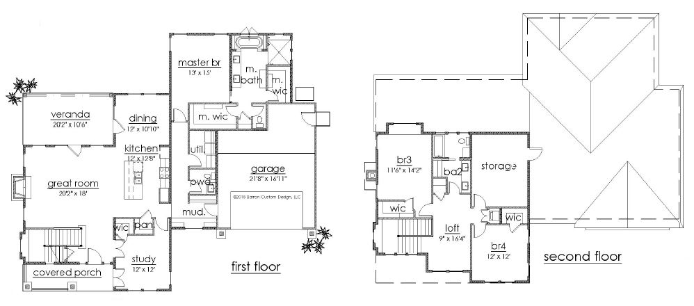 Lot 3 - The Retreat - Georgetown - floorplan