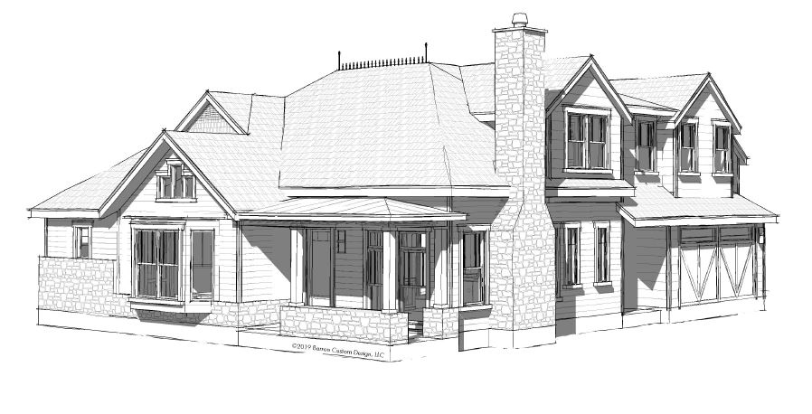 Lot 12 - The Retreat - Georgetown - elevations