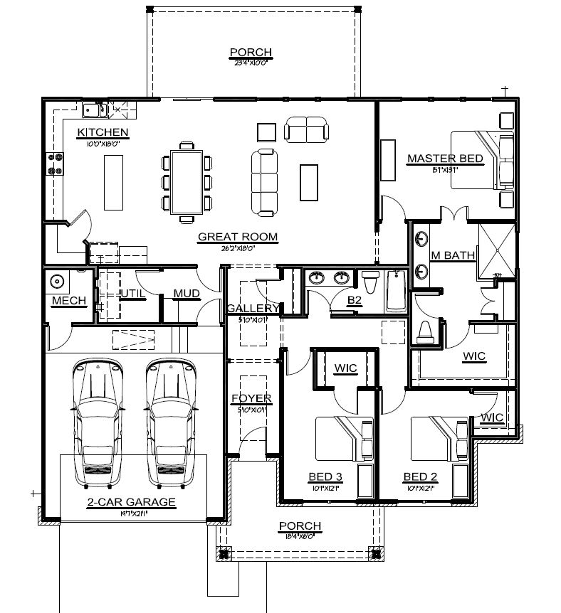 New Home for Sale 103 Kings Way - floorplan