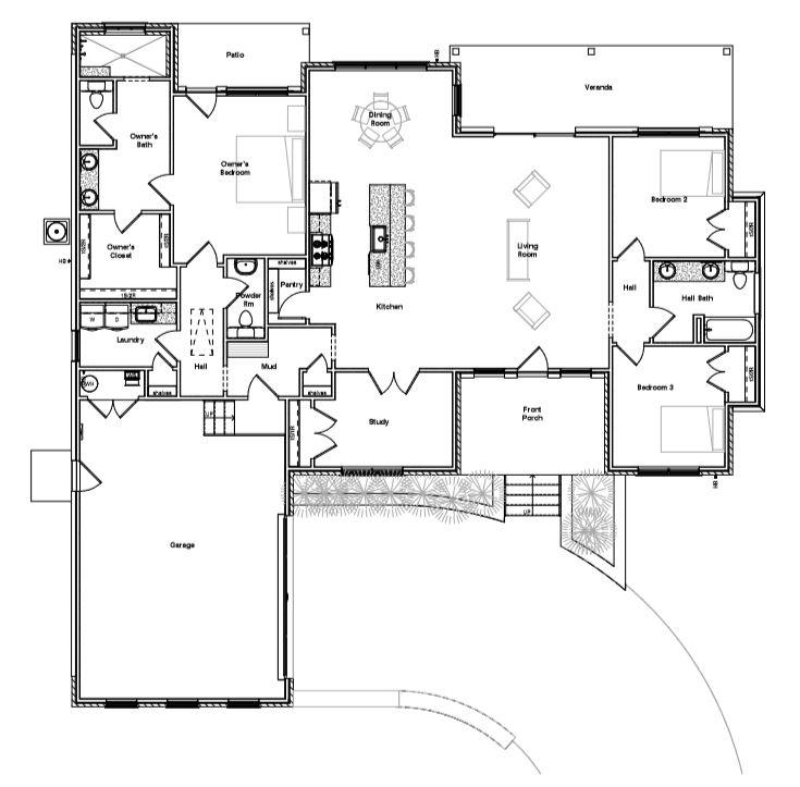 609 Taylor Drive, Horseshoe Bay Floor Plan