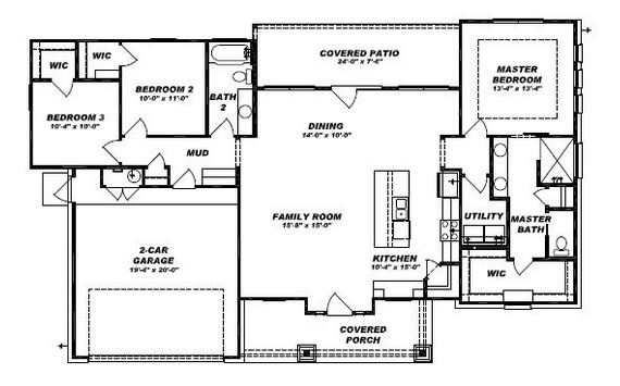 100 Retreat Place, Georgetown Floor Plan