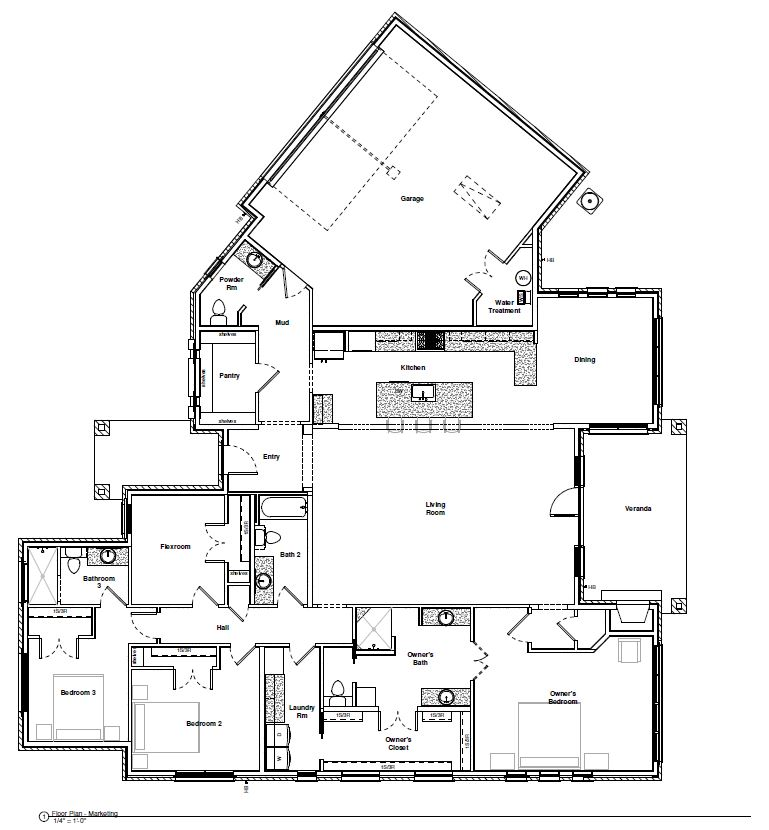 1501 Hi Fault, Horseshoe Bend floor plan