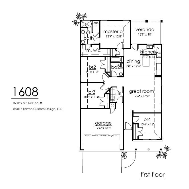 137 Marion, Meadowlakes Floor Plan