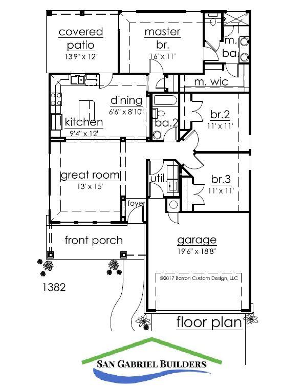 154 W. Sweetbriar - Granite Shores - Floor Plan