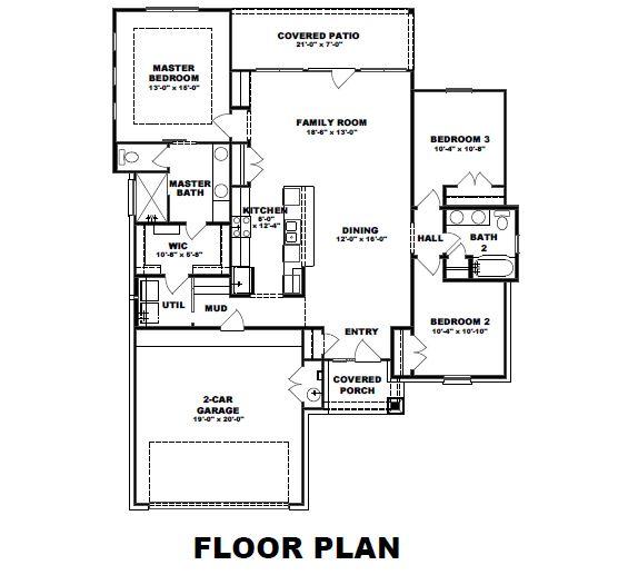 1115 E 7th St - The Retreat - Floor Plan