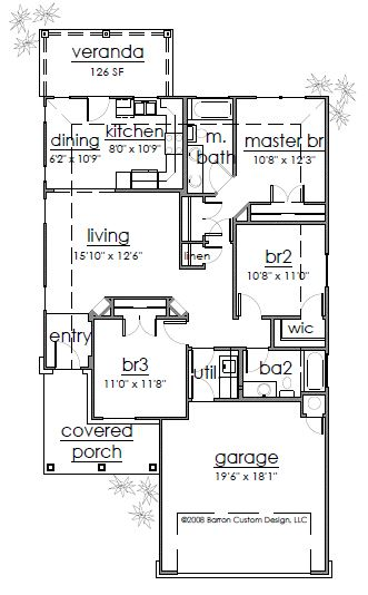 733 Dogwood Lane Falls Floor Plan