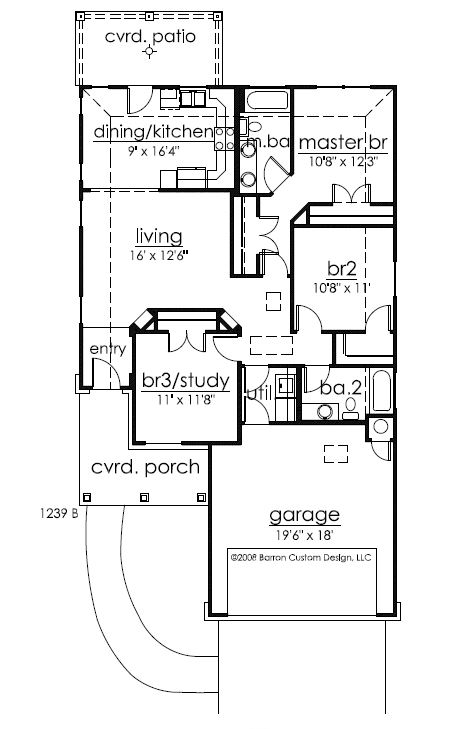 154 Lakewood, Granite Shoals, TXX - floorplan